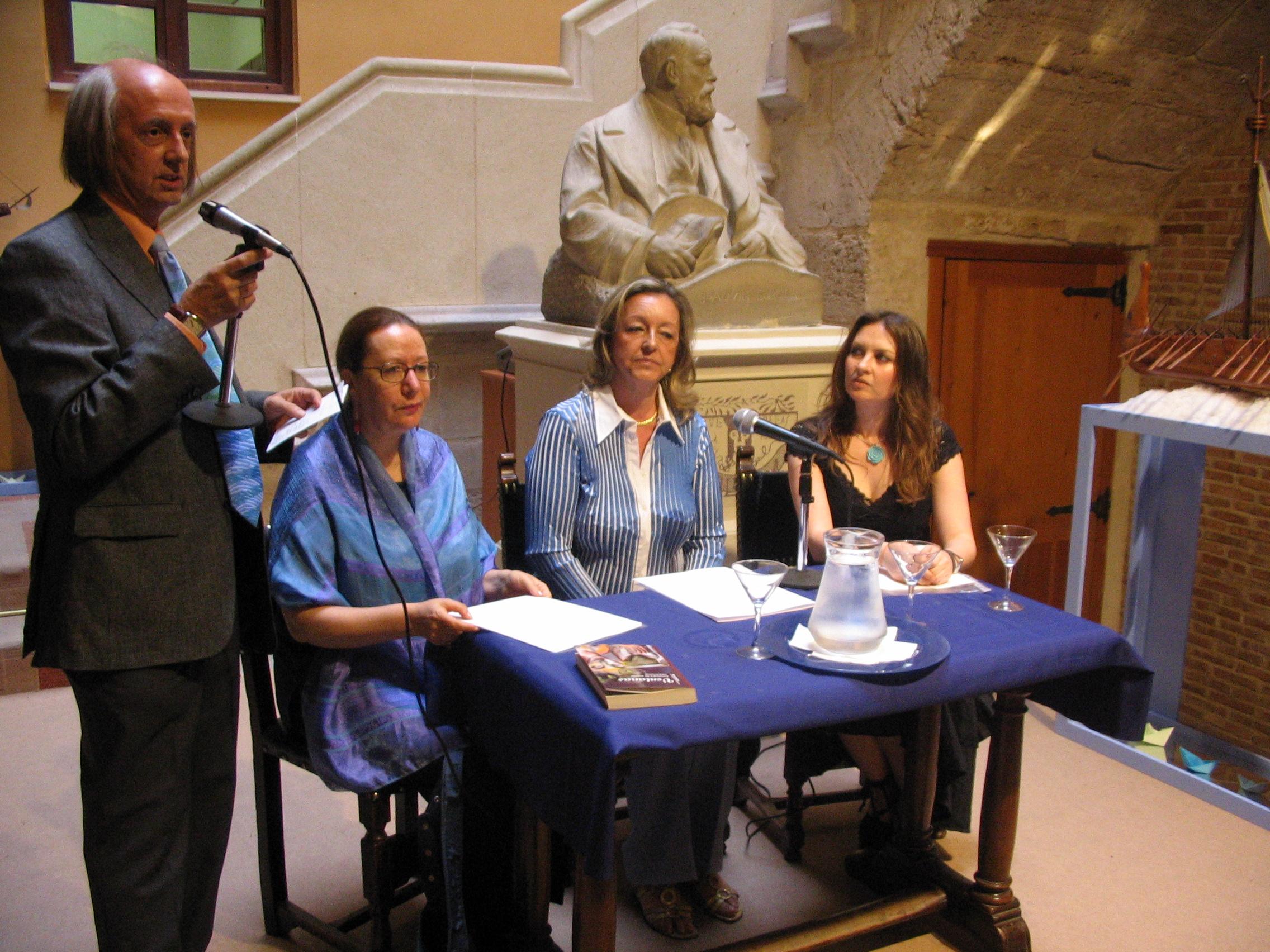 Lecturas poéticas en el Círculo de Bellas Artes de Valencia