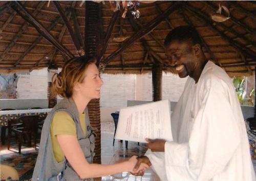 Aurora Luna, Senegal
