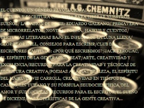 ESCRITURA CREATIVA VALENCIA - Máquina de escribir
