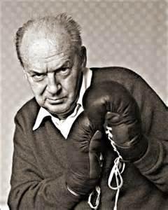 Nabokov con guantes de boxeo