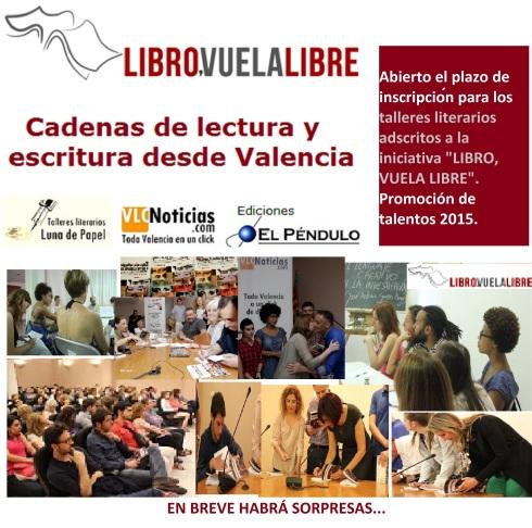 Talleres literarios Libro vuela libre en Valencia