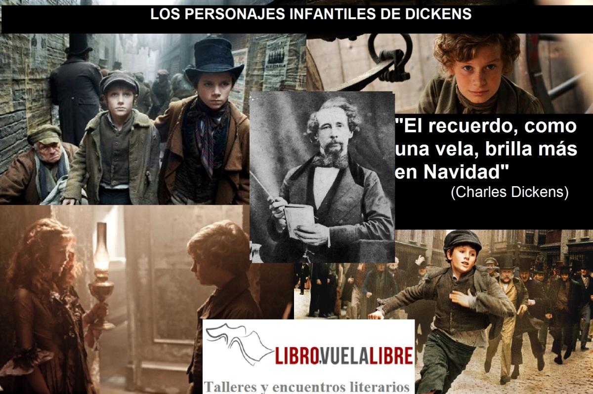 LOS PERSONAJES INFANTILES DE DICKENS. Homenajes del curso de escritura