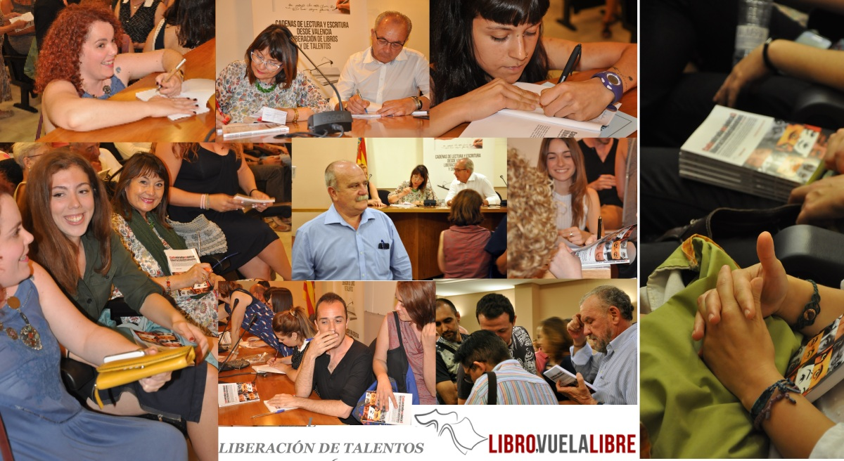 Taller de escritura creativa en Valencia: LA FIESTA DE LA PALABRA, encuentros  literarios en curso