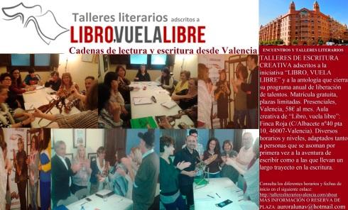 Premios literarios taller de escritura Valencia