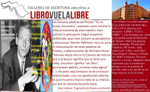 Taller de escritura creativa en Valencia