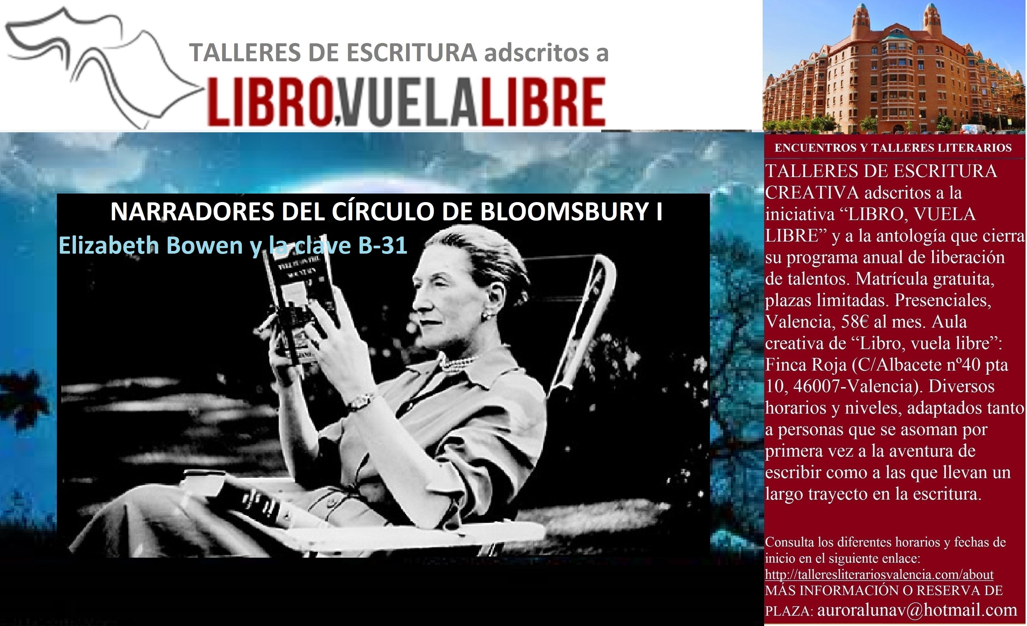 CÍRCULO DE BLOOMSBURY (I). Cursos de escritura, narradores de la clave B-31