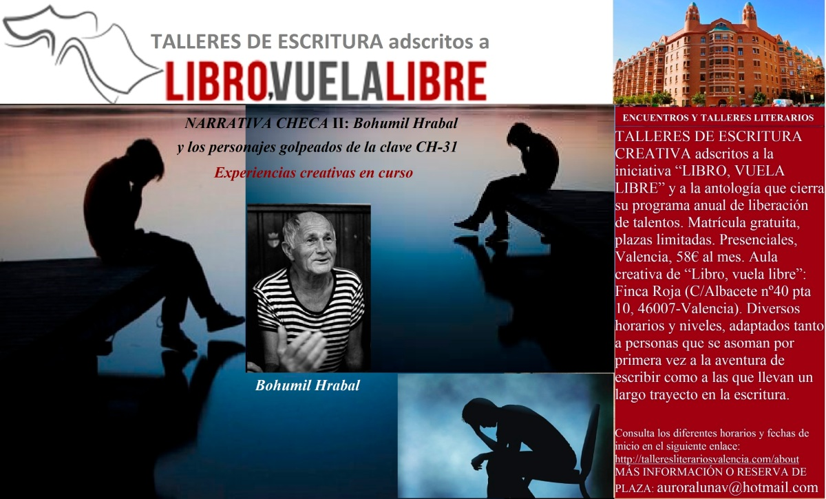 NARRATIVA CHECA II. Cursos de escritura creativa en Valencia, clave CH-31