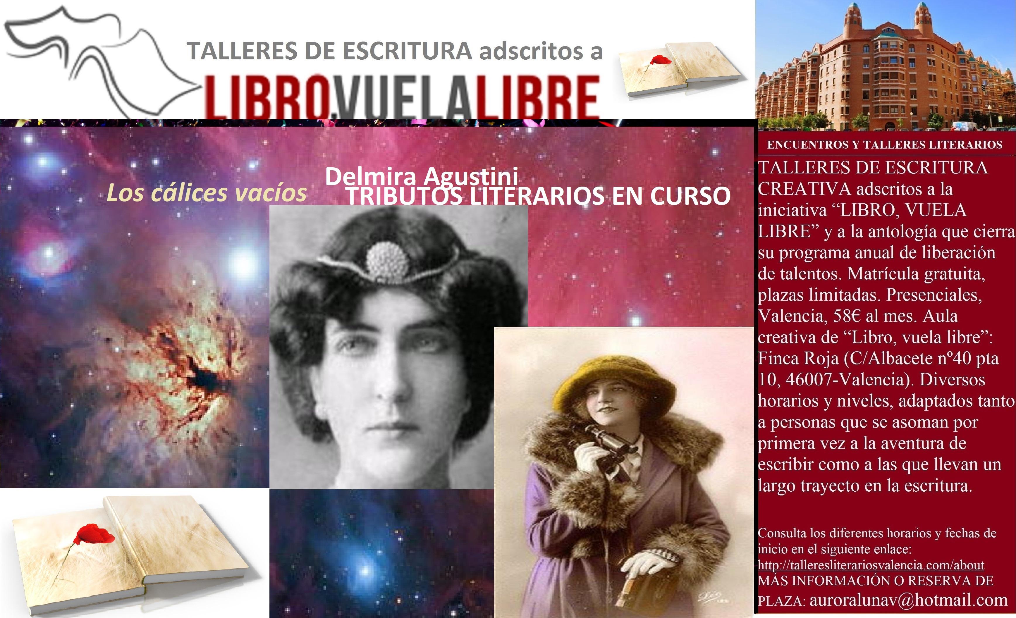 LA LÍRICA ERÓTICA DE DELMIRA AGUSTINI. Taller de escritura: tributos literarios en curso