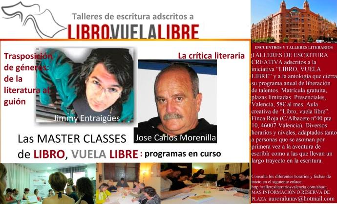 Jimmy Entraigües y Jose Carlos Morenilla Rocher