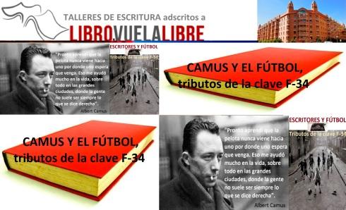 Camus y el fútbol. Talleres de escritura y eventos literarios en Valencia