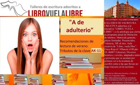 Ejercicios de escritura del club de lectura adscrito a Libro, vuela libre