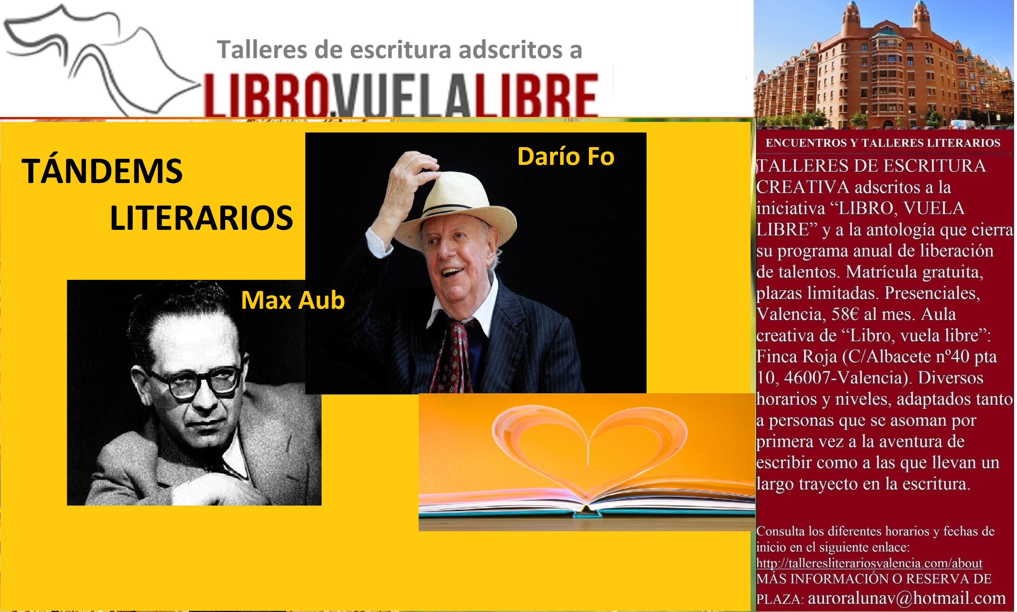 Tándems literarios: Darío Fo Y Max aub