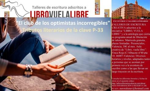 Tributos de lostalleres y cursos de escritura creativa en Valencia