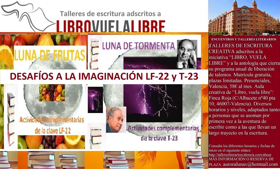 TORNEOS LITERARIOS de LIBRO, VUELA LIBRE. Claves en curso