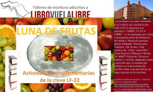 Taller literario en Valencia de LIBRO, VUELA LIBRE
