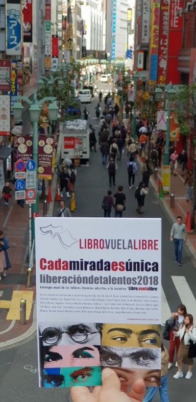 La antología de los talleres literarios de LIBRO, VUELA LIBRE en las calles de Tokio