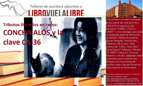Concha Alós, tributos en curso a los escritores valencianos del siglo XX