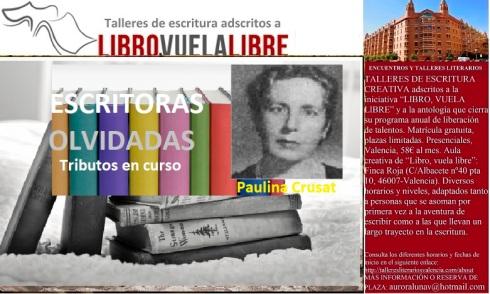 Tributos en curso de los talleres de escritura creativa de LIBRO, VUELA LIBRE en Valencia