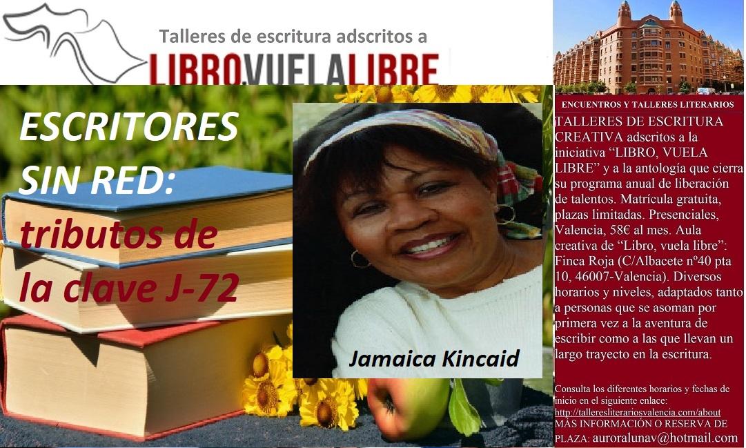 Talleres de escritura de LIBRO, VUELA LIBRE, tributos de la clave J-72
