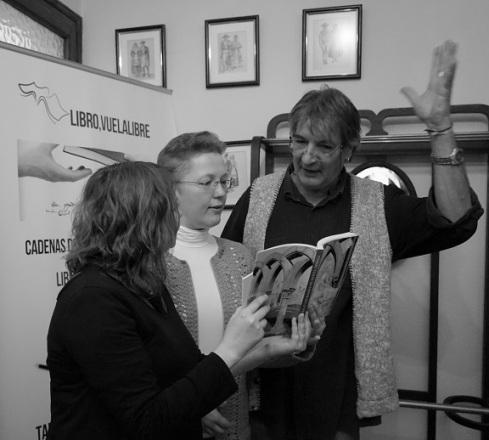 La escritora lituana Jurate Miceviciute en las recomendaciones de lecturas navideñas de los talleres de escritura y las cadenas literarias de LIBRO, VUELA LIBRE