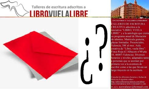 Actividades de complemento en los talleres de escritura creativa de LIBRO, VUELA LIBRE