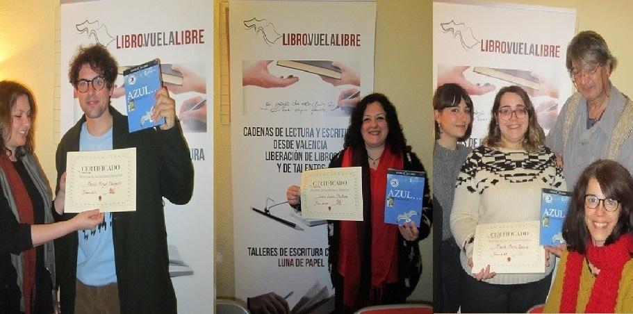 Finalistas de los torneos de los talleres literarios de LIBRO, VUELA LIBRE