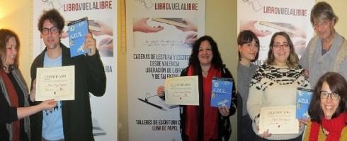 Finalistas de los torneos literarios de los talleres de escritura creativa en Valencia de LIBRO, VUELA LIBRE