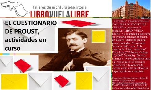 Actividades de creación literaria de los talleres de escritura creativa y cursos para adultos en Valencia