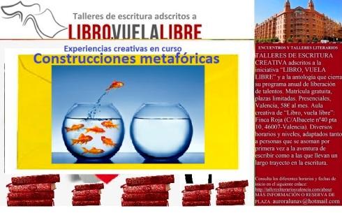Curso de escritura en Valencia, construcciones metafóricas I
