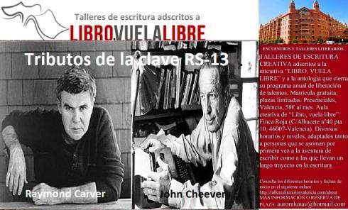 Clave RS-13 en el taller de escritura de LIBRO, VUELA LIBRE en Valencia
