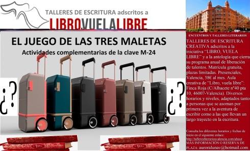 Taller literario en Valencia, actividades complementarias de la clave M-24