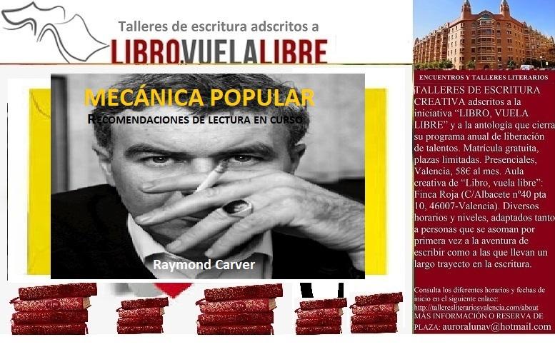 MECÁNICA POPULAR. Talleres literarios, bloques en curso