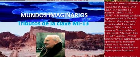 Mundos imaginarios y relatos de literatura fantástica en el taller literario de LIBRO, VUELA LIBRE en Valencia
