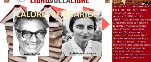 Calores literarios. Talleres literarios en Valencia de LIBRO, VUELA LIBRE