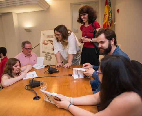 Liberación de talentos 2019 de los talleres literarios de LIBRO, vUELA LIBRE en Valencia