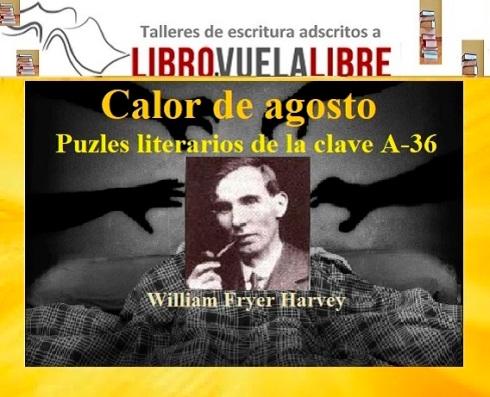 Puzle literario de la clave A-36 en el taller de escritura de Libro, vuela libre en Valencia