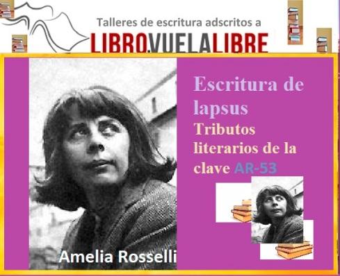 La poesía de Amelia Roselli en el Taller de escritura en Valencia de LIBRO, VUELA LIBRE