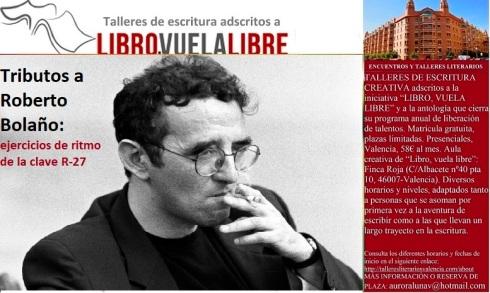 Roberto Bolaño. Tributos literarios del taller de escritura en curso