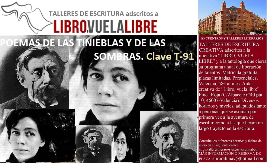Taller de escritura en Valencia de Libro, vuela libre. Clave T-91
