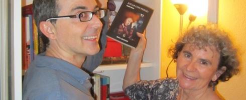 Sandra Bruce en la biblioteca de talentos de LIBRO VUELA LIBRE