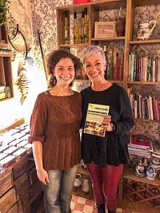 6 La delegada de Libro vuela libre en Portugal con Marta Bowscheidt