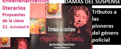 Envenenamientos literarios, tributos a las escritoras de suspense en el taller de escritura en Valencia de Libro vuela libre