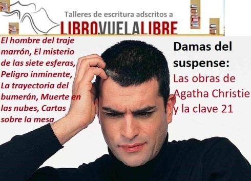 Las obras de Agatha Christie en los talleres de escritura en Valencia de Libro vuela libre