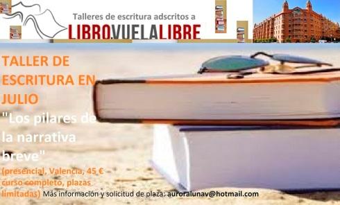 Taller de verano en Valencia de escritura creativa. Programas en curso