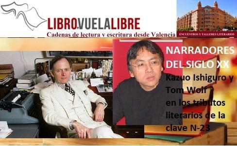 Tributos a los narradores del siglo XX en el taller de escritura en Valencia de Libro vuela libre