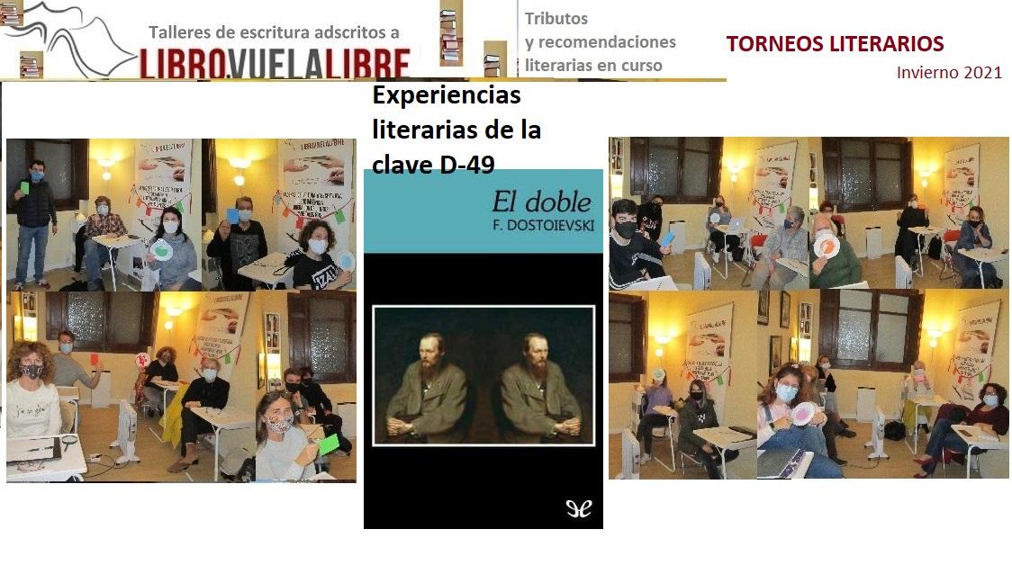 Taller de novela en Valencia: EL DOBLE de Dostoievski