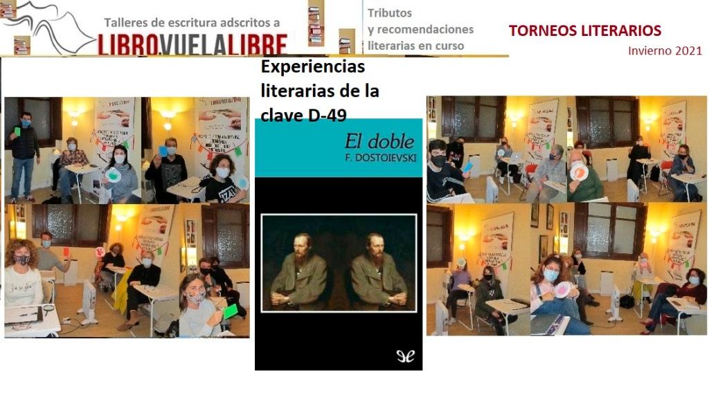Taller de novela en Valencia de Libro vuela libre, experiencias literarias de la clave D-49