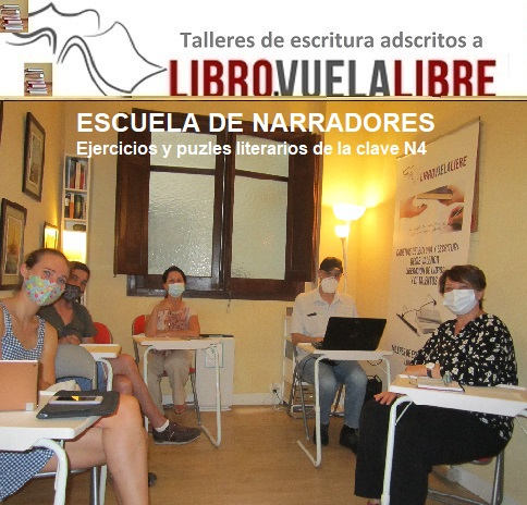 Escuela de escritores en Valencia, Nuevos bloques y ejercicios literarios de la clave N4 en los talleres de escritura creativa online y presenciales de LIBRO VUELA LIBRE