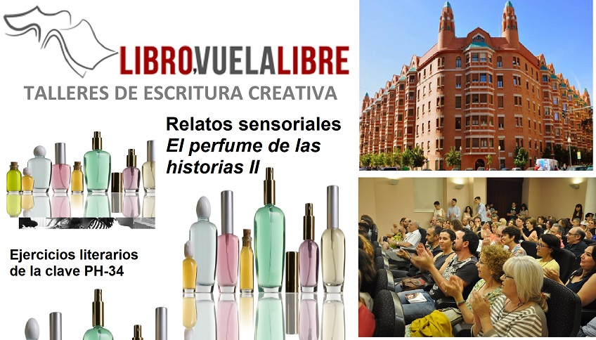 Relatos sensoriales en los cursos de escritura creativa online y presencial de LIBRO VUELA LIBRE en Valencia
